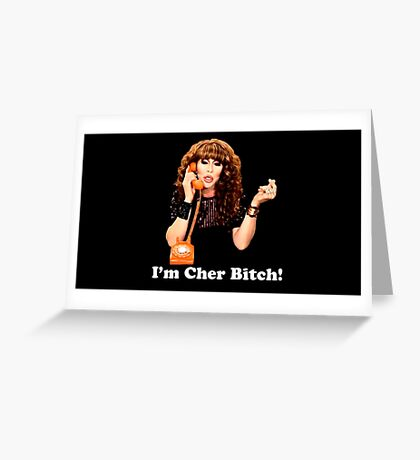 Rupaul, Chad Michaels, Cher, Drag Queen Greeting Card