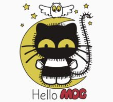Hello Mog - Purple Kids Clothes
