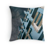Frontier Motel Throw Pillow