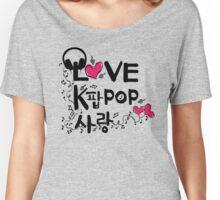 KPOP SARANG Women's Relaxed Fit T-Shirt