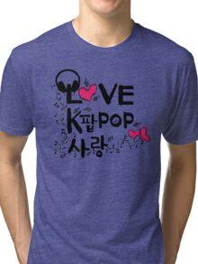 KPOP SARANG Tri-blend T-Shirt
