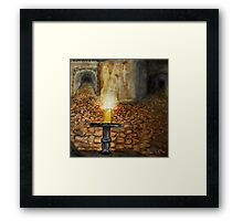 Ancient Catacombs Framed Print