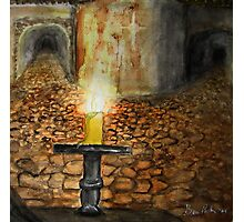 Ancient Catacombs Photographic Print