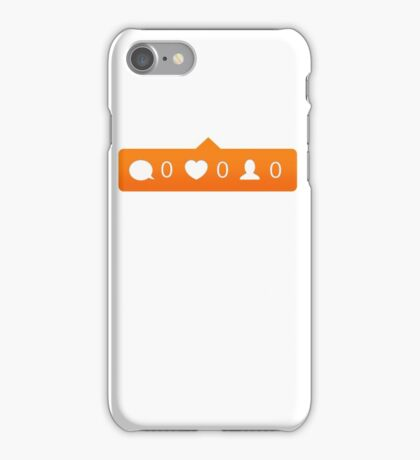 instagram notification iPhone Case/Skin