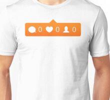 instagram notification Unisex T-Shirt