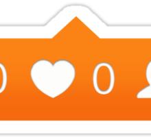 instagram notification Sticker