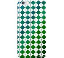 sdd Pattern 3K blue green tones iPhone Case/Skin