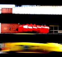 Bogota Taxi by Anthony Evans