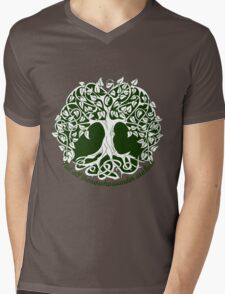Not all those who wander are lost - Tree of Life Mens V-Neck T-Shirt