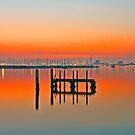St Kilda sunset by RichardIsik