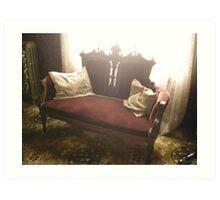 Living Chair Art Print