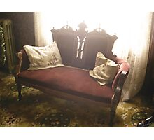 Living Chair Photographic Print