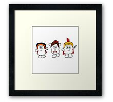 Adipose-the fat just walks away! Framed Print