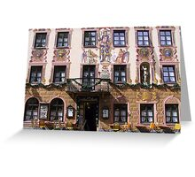 Beautiful Facade Greeting Card