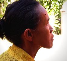 Balinese Lady in Murni's Villas by JonathaninBali