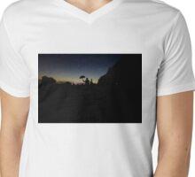 Friend in the dark Mens V-Neck T-Shirt