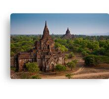 Bagan Temples Canvas Print