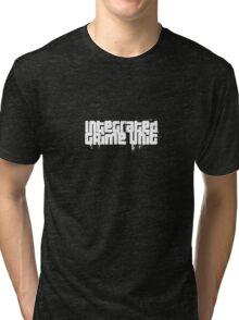 Integrated Grime Unit (White) Tri-blend T-Shirt