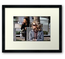 Waiting, Longing.....Patience Framed Print