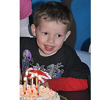 Birthday Boy Photographic Print