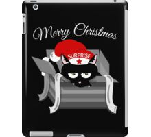 Naughty Cat Merry Christmas iPad Case/Skin