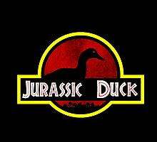 Jurassic duck_v3 by silverbrush