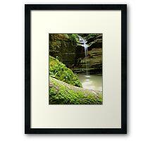 Ottawa Canyon Framed Print