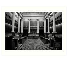 The Legislative Council Art Print
