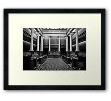 The Legislative Council Framed Print