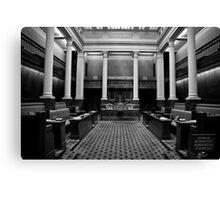 The Legislative Council Canvas Print