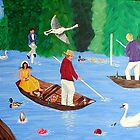 Henley Regatta Fun by Sandy Wager