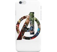 Avengers Symbol iPhone Case/Skin