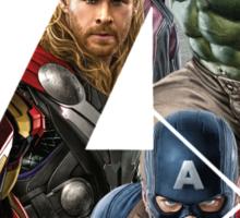 Avengers Symbol Sticker