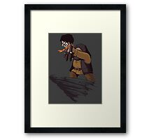 Harry Potter Lion King Crossover Framed Print