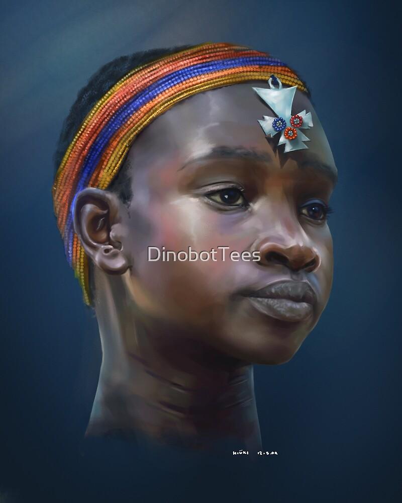 Samburu Girl by DinobotTees
