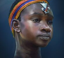 Samburu Girl by DinobotTees