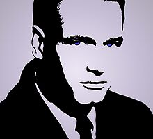 Paul Newman with Blue eyes by kmercury
