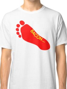Bacon Foot Tattoo Classic T-Shirt