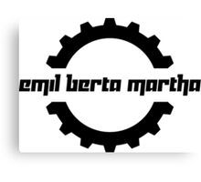 Emil Berta Martha Canvas Print