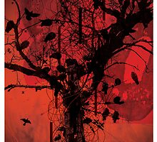 blood tree by emohoc