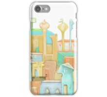 The Town came to Life. iPhone Case/Skin
