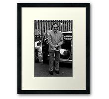 Ken Dodd 2 Framed Print