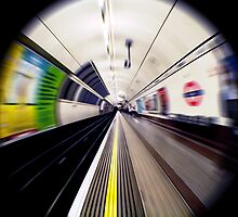 On The Northern Line by Ruski