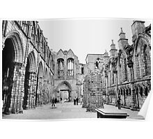 Holyrood abbey, Edinburgh. 3. Poster