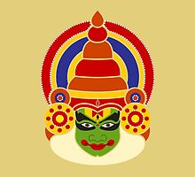 Kathakali Dancer's Face by NeetiAgarwal