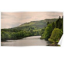 The river Tay, Scotland. Poster