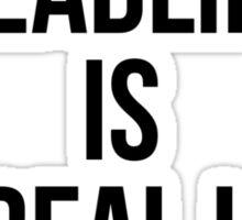 DEADLIFT IS MY REAL LOVE Sticker