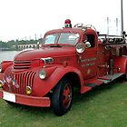 1942 Chevrolet Fire Engine by mstinak
