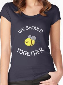 A bug's love life! Women's Fitted Scoop T-Shirt