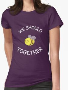 A bug's love life! Womens Fitted T-Shirt